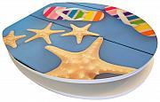 Euroshowers Acrylic Finish Toilet Seat