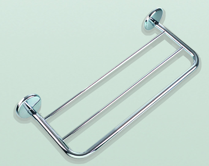 Carrara and Matta Plus Range Towel Shelf in Chrome