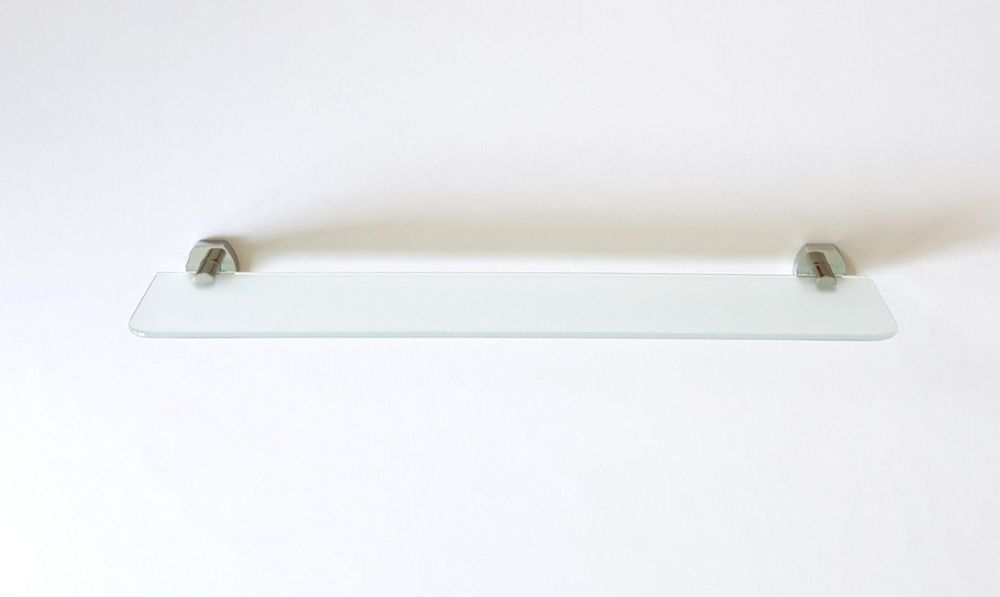Carrara and Matta Copenhagen Range Frosted Glass Shelf
