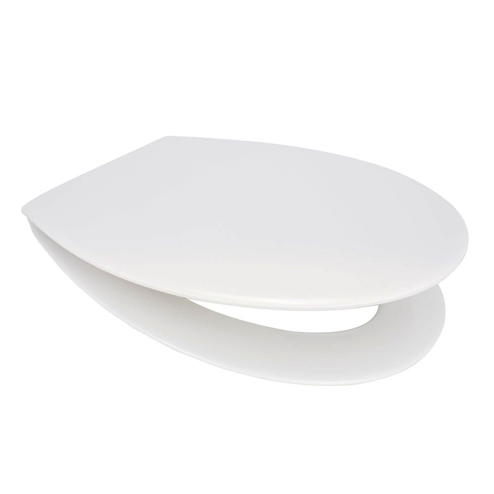 MELLOW ONE Seat Universal White Toilet Seat by Euroshowers -89910