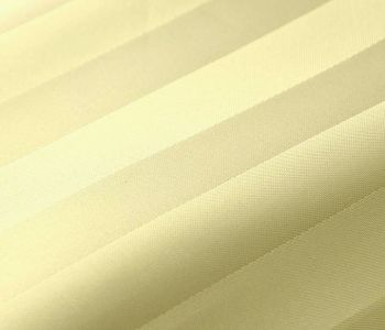 Euroshowers SatinStripe Cream Shower Curtain