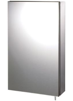 Euroshowers Stainless Steel Maxi Cabinet 40x67x12cm