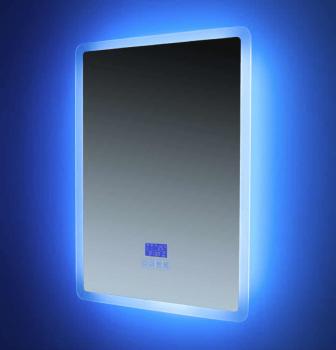 Euroshowers Rectangle (Portrait) Bluetooth LED Mirror 50x70cm