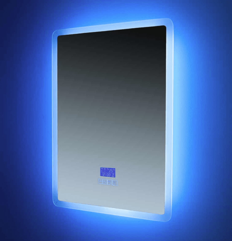 Euroshowers Rectangle (Portrait) Bluetooth Mirror 50x70cm