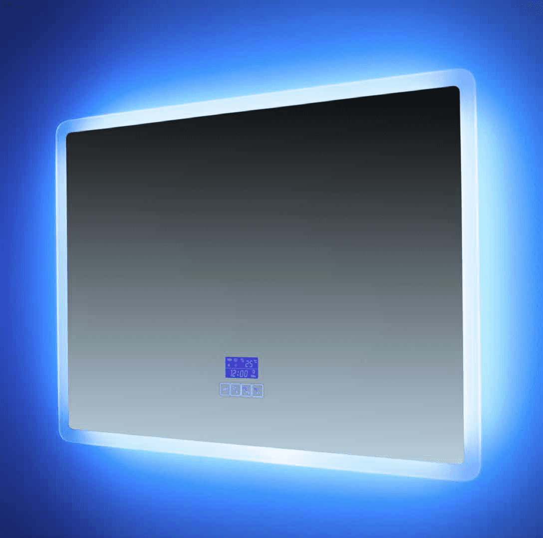Euroshowers Rectangle (Landscape) Bluetooth Mirror 80x60cm