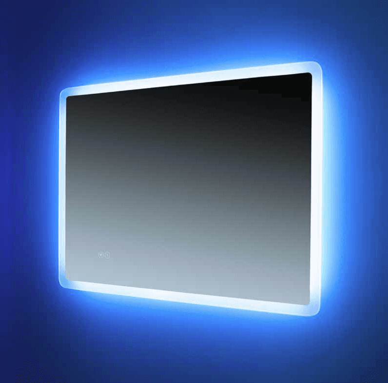 Euroshowers Rectangle LED Mirror 80x60cm