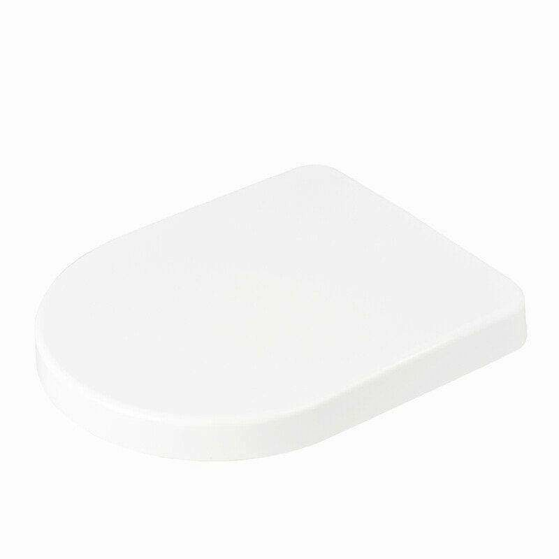 Middle D Shape Toilet Seat- by Family Seat