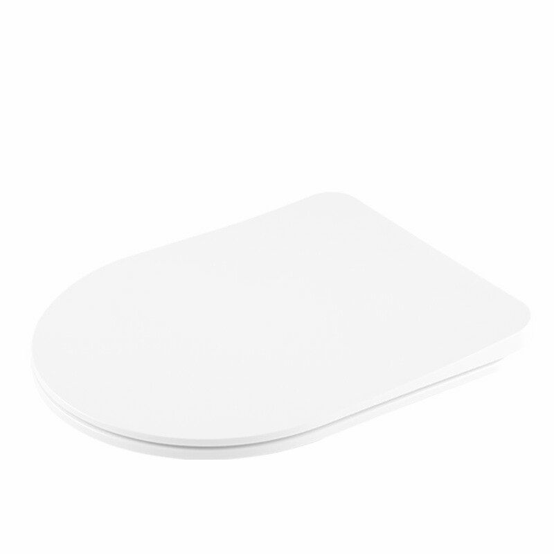 The Derby - Slim D Shape Toilet Seat- by Family Seat