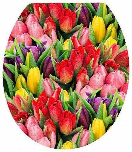TULIPS Novelty Toilet Seat by Euroshowers