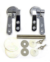 Euroshowers SP7 Chrome Round Hinges