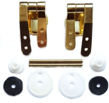 Gold Round Hinges