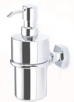 Carrara & Matta Chrome Plated Brass / Stainless Steel Soap Dispenser - Copenhagen