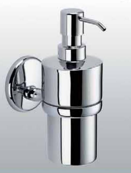 Carrara & Matta Chrome Plated Brass / Stainless Steel Soap Dispenser - Brav