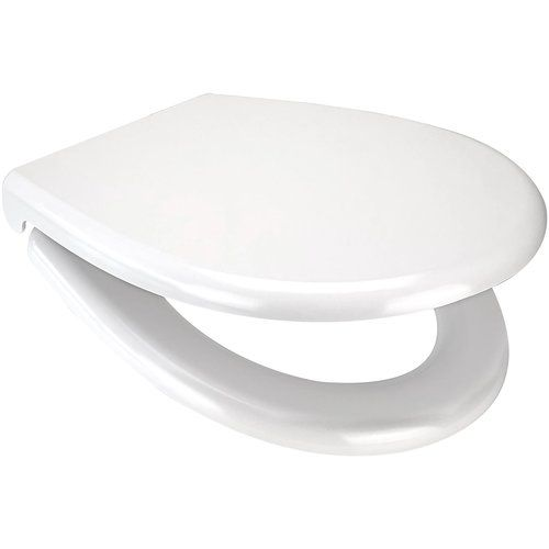 Opal WELL Soft Close White Duroplast Toilet Seat