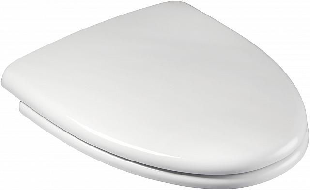 Ceraline Duroplast Toilet Seat with Chrome fittings - OPEN BOX ITEM