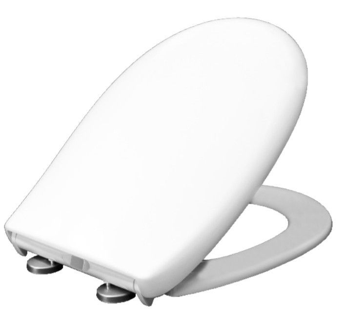 OPEN BOX - Bemis FLORENCE Slow Close STA-TITE Toilet Seat #2065