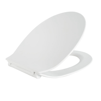 RTS Ultra Thin Soft Close Toilet Seat w/ One Button Quick Release