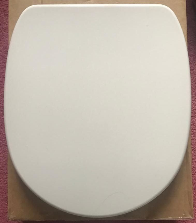 D Select 378mm WIDE D Shape Toilet Seat