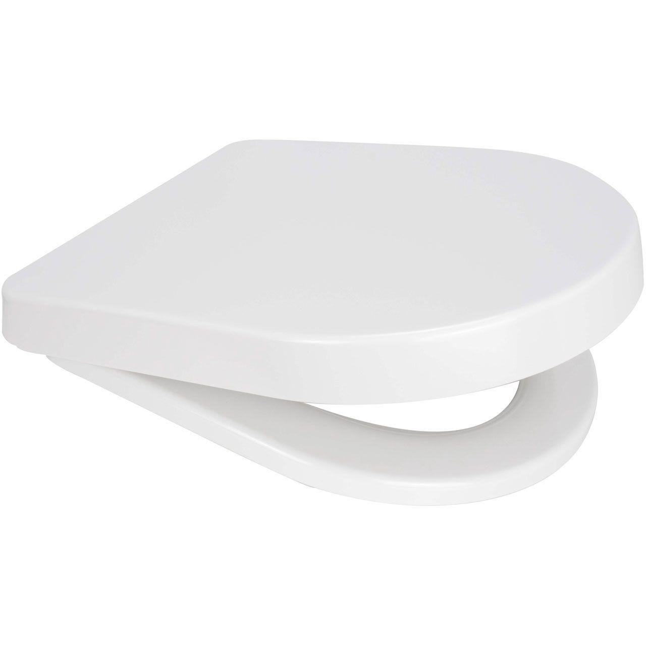 Short Length  424 mm D shape toilet seat