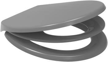 Euroshowers Grey Multi Seat Potty Training Toilet Seat - 83092