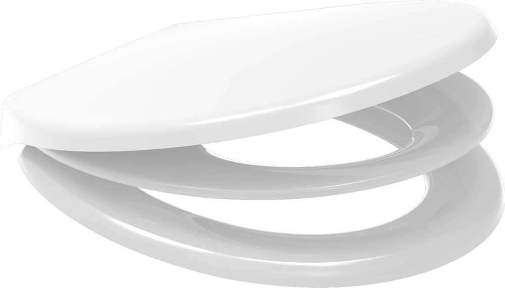 Euroshowers White Multi Seat Potty Training Toilet Seat - 83090