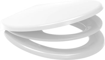 Euroshowers White Multi Seat Potty Training Toilet Seat - 83090