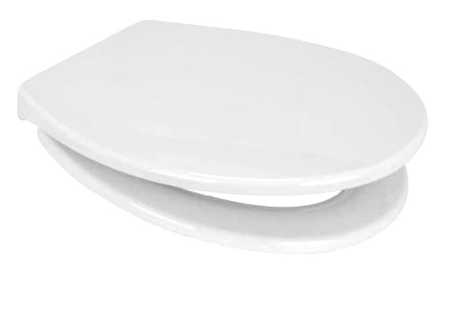 Euroshowers PP 21 Oval Soft Close Toilet Seat - 87380