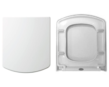Euroshowers ONE Seat Smiley D Square Shape Toilet Seat - 83040 OPEN BOX