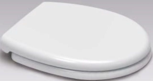Opal WELL Soft Close White Duroplast Toilet Seat  - OPEN BOX ITEM