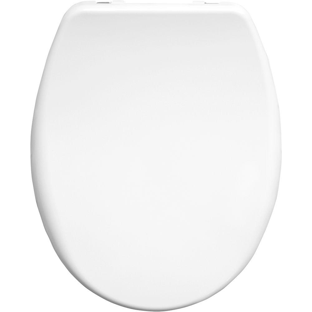 Bemis Venezia White Slow Close Take Off Sta-tite Toilet Seat  - 2082clt