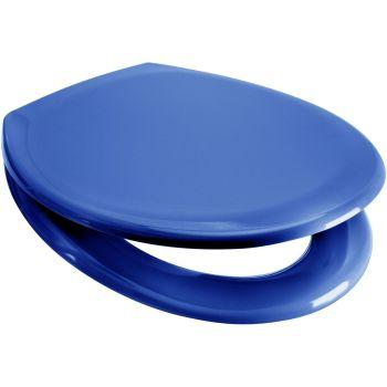 Euroshowers Blue Slow Close Quick Release Toilet Seat - OPEN BOX ITEM