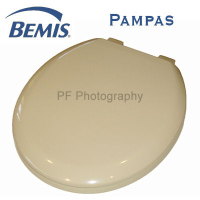 Bemis Pampas Colour Moulded Wood Toilet Seat