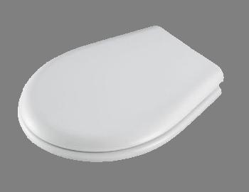 Portofino Toilet Seat in White by Carrara & Matta