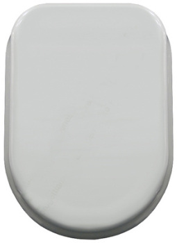 Tesi Toilet Seat by Carrara & Matta - White