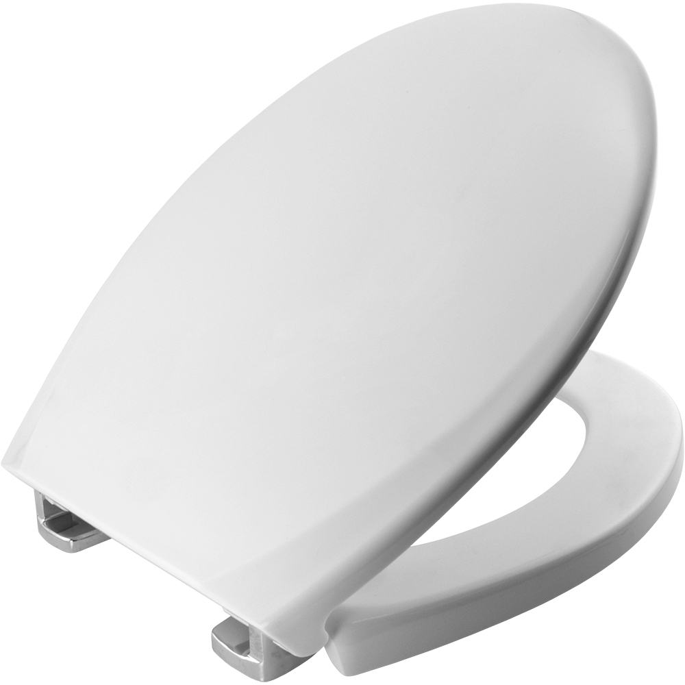 bemis sta tite 3900cpt thermoset white resin toilet seat. Black Bedroom Furniture Sets. Home Design Ideas