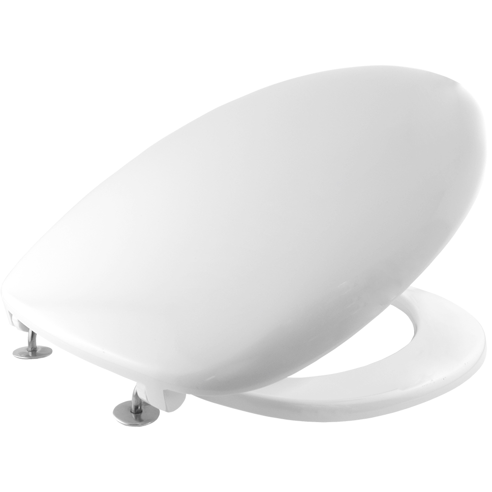 Bemis STA-TITE 2001ST Thermoset White Resin Toilet Seat