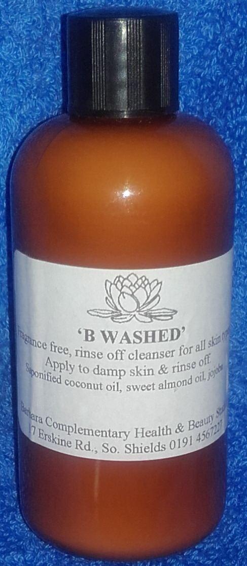 B. Washed