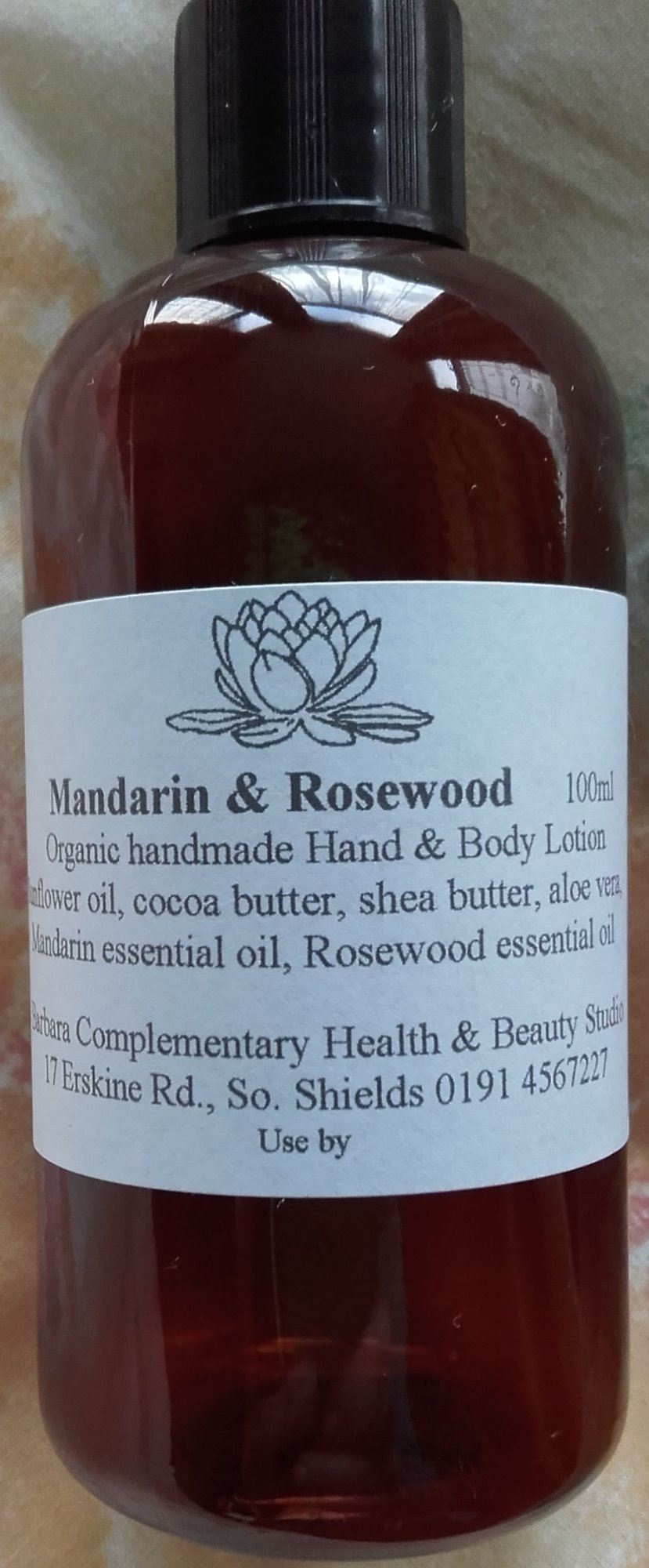 Mandarin & Rosewood Hand and Body Lotion
