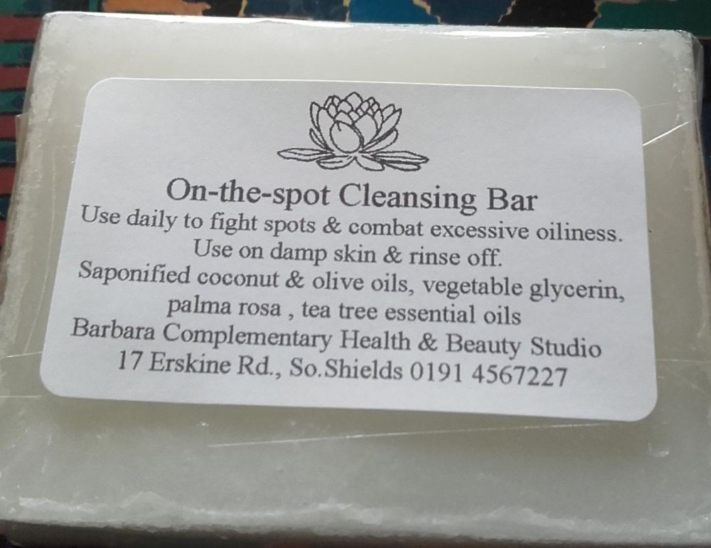On-the-spot Cleansing Bar
