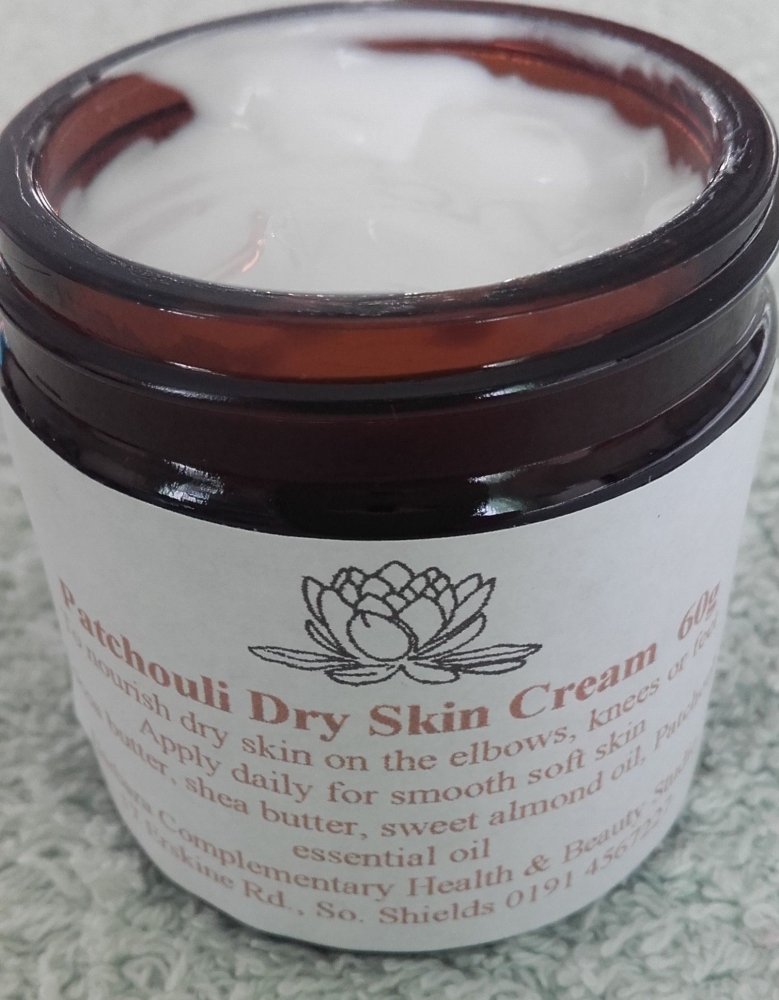 Patchouli Dry Skin Cream