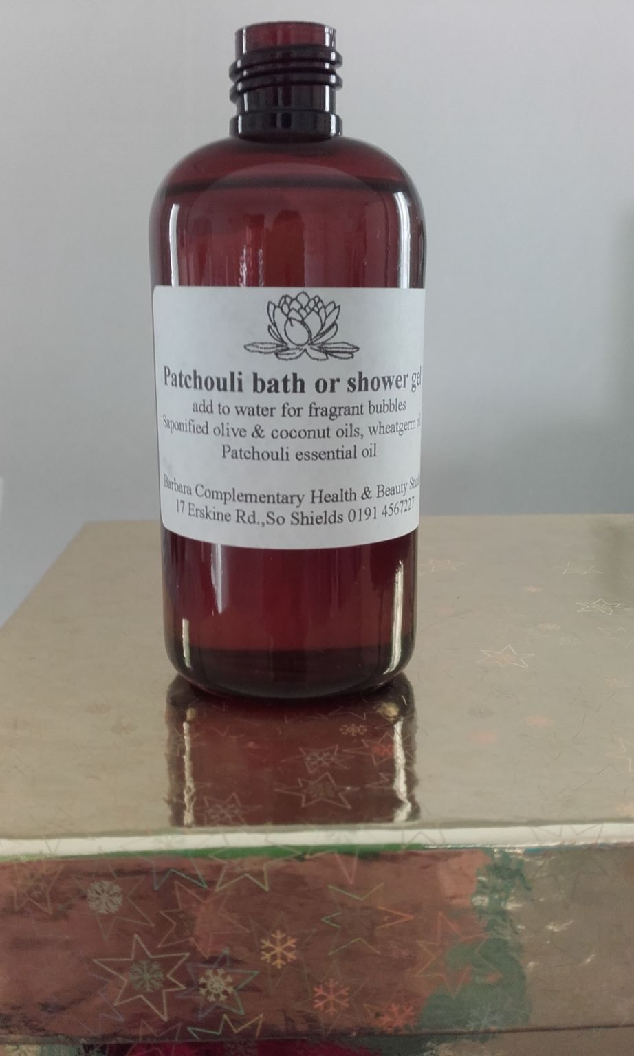Patchouli Bath and Shower Gel (100ml)