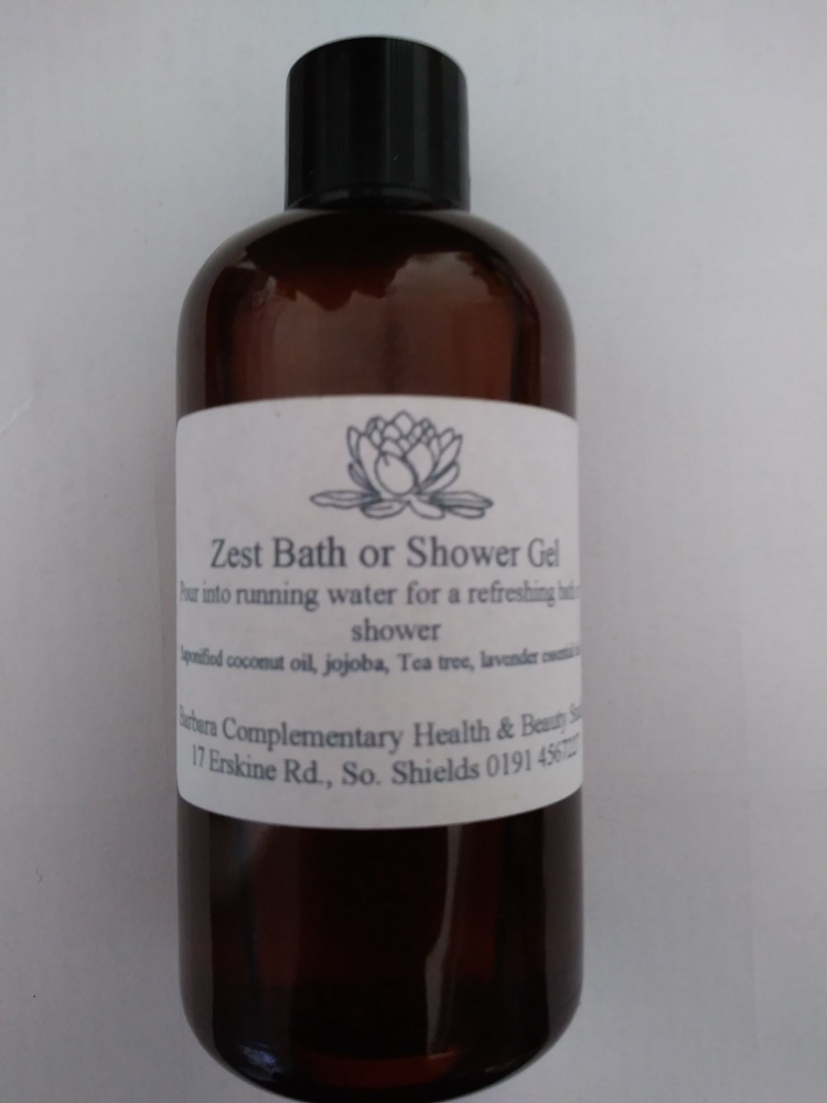 Zest...Bath and Shower Gel for Men (100ml)