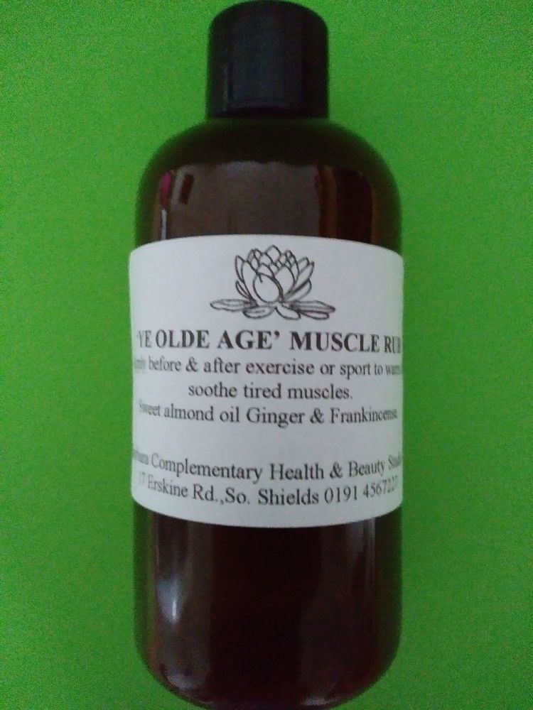 'Ye olde age' muscle rub (100ml)