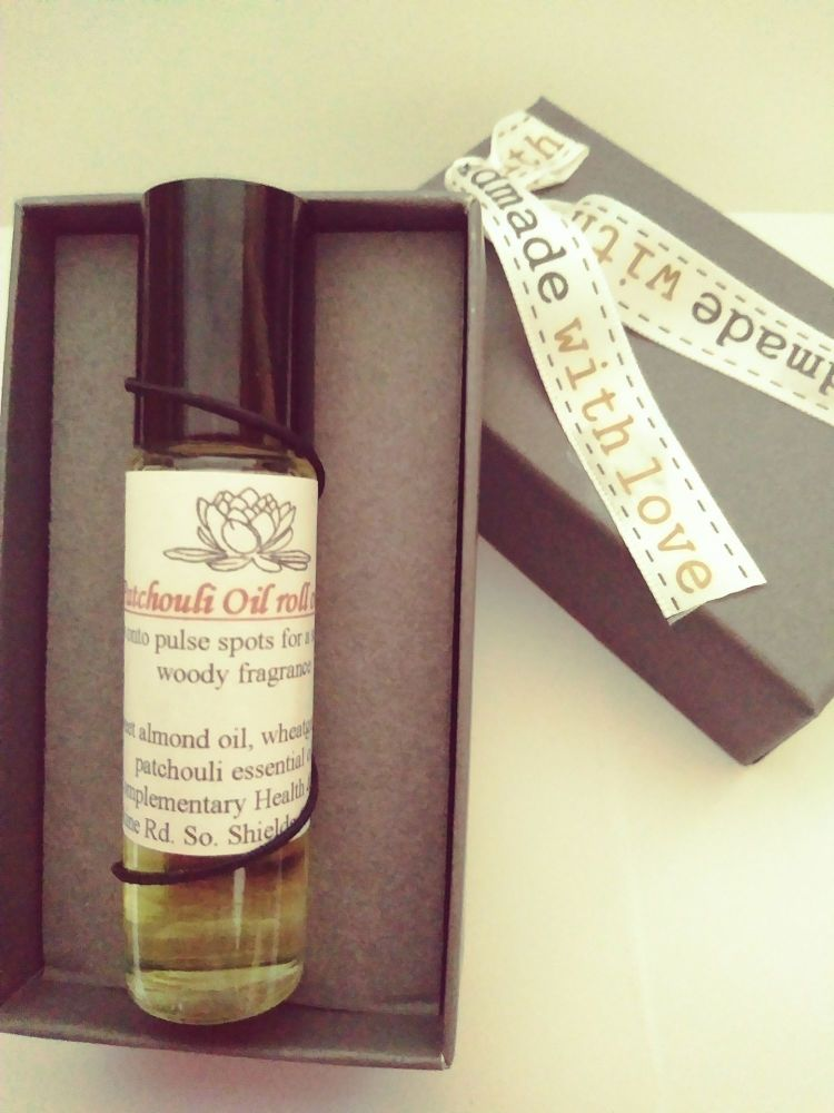 Patchouli, Essential Oil Roll -On (10ml)