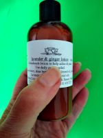 Lavender and Ginger Lotion (100ml)