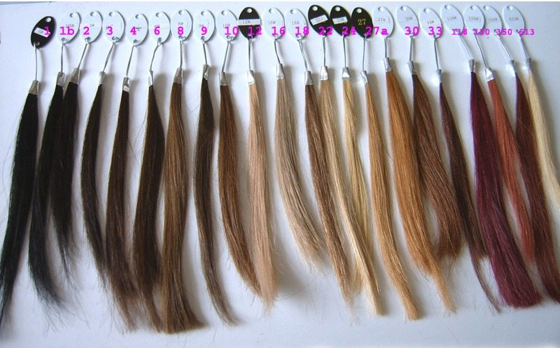 Micro bond and keraten bond hair and weft extensions at extension lengths hair lengths colour chart 1 pmusecretfo Choice Image