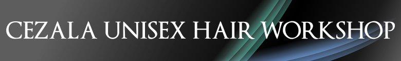cezala hair workshop, site logo.