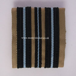 WW2 Sqn Leader RAF Rank Slides (Pair)