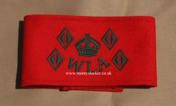 Women's Land Army (WLA) 4 Year Armband