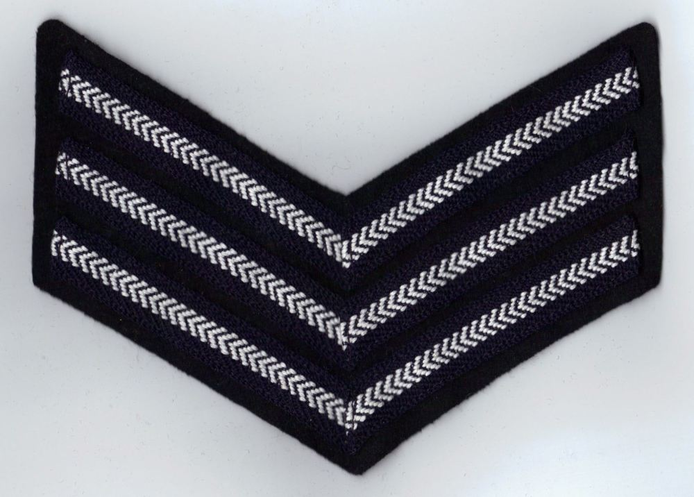 RAF Sgt Rank Chevrons